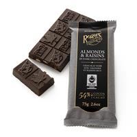 Almonds & Raisins Dark Chocolate Bar