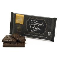 """Thank You"" Dark Chocolate Bar"