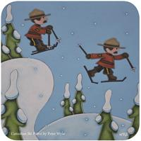 Canadian Ski Patrol, by Peter Wyse