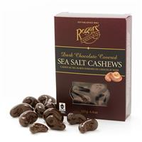 Dark Chocolate Covered Sea Salt Cashews