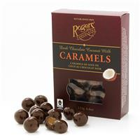 Dark Chocolate Coconut Milk Caramels