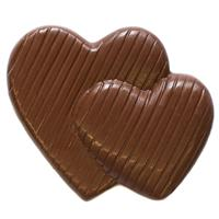 Double Hearts - Milk Chocolate