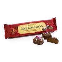 Candy Cane Caramels - Milk Chocolate