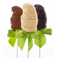 Charlie Bunny Lollipop - White Chocolate