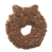 No Sugar Added Chocolate Wreath - Milk