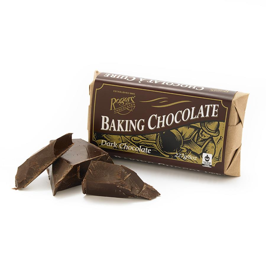 Baking Dark Chocolate Block