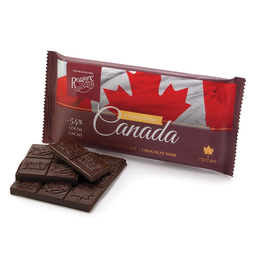 Taste From Canada Dark Chocolate Bar