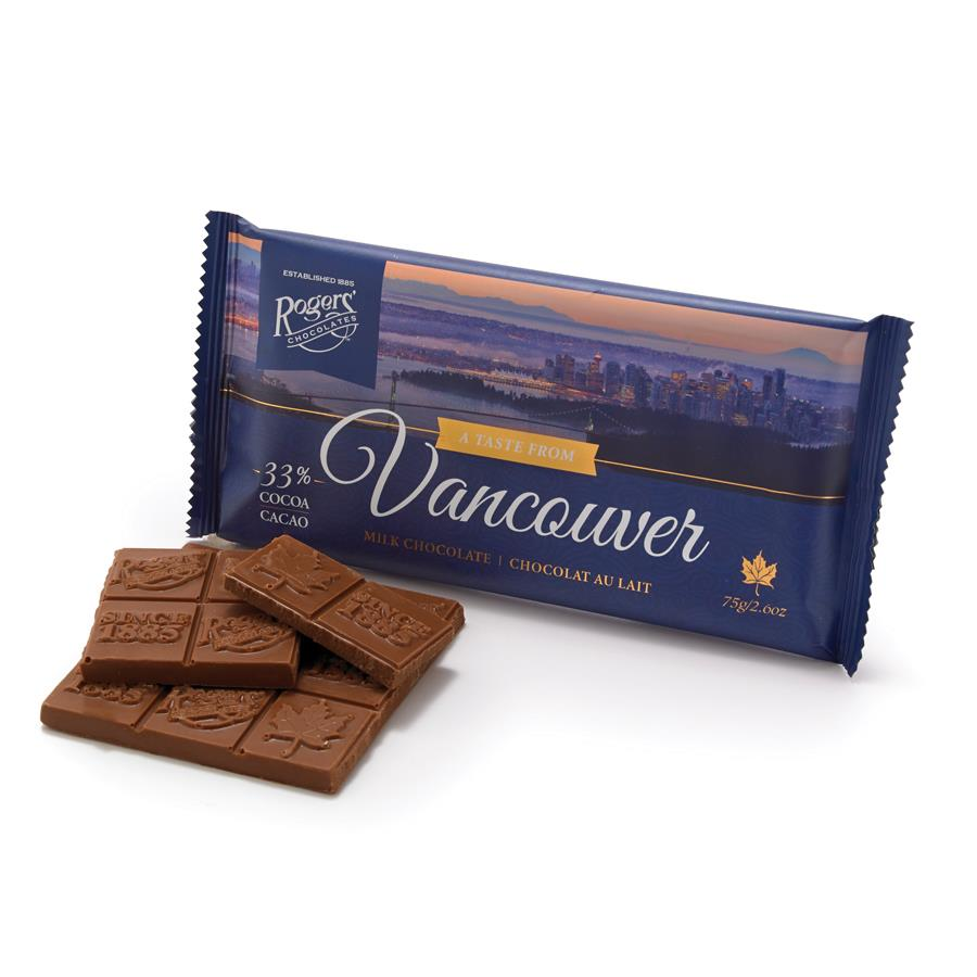 Taste from Vancouver Milk Chocolate Bar