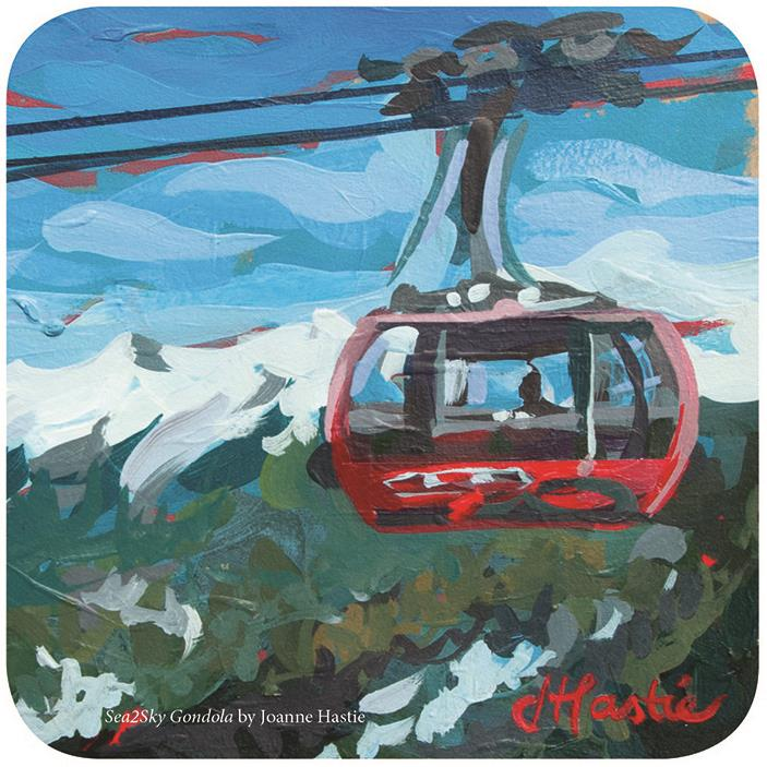 Sea2Sky Gondola, By Joanne Hastie