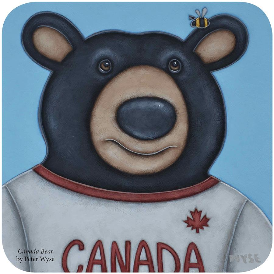 Canada Bear, By Peter Wyse