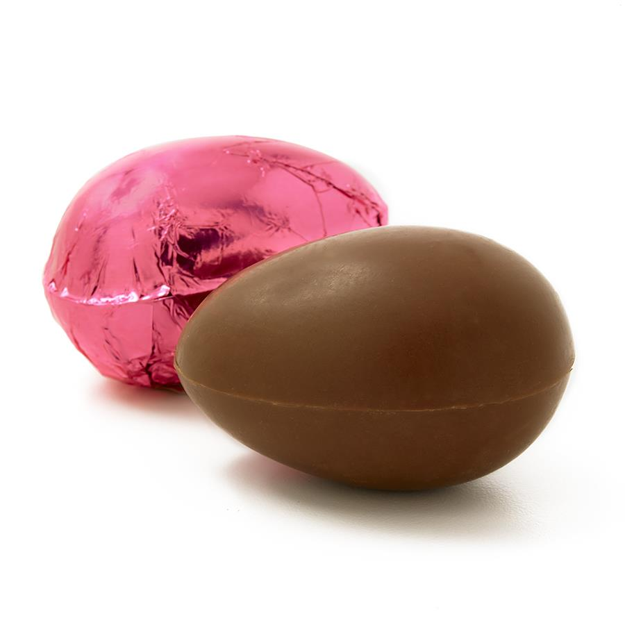 "Solid 2"" Chocolate Egg - Milk Chocolate"